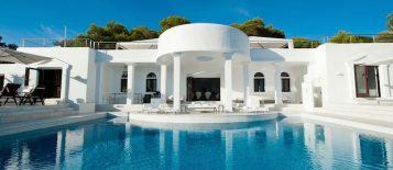 """""""Villa Rica"""": villa privada de lujo en Ibiza"""