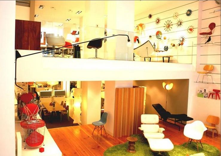 """""""Funcionalidad, diseño y belleza se fusionan para presentarnos sillas, lámparas, y todo tipo de muebles de alta calidad.""""  Showroom de Vitra en Barcelona, una de las tiendas de diseño más punteras tienda vitra en barcelona"""