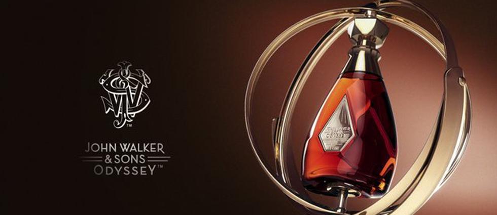 """""""John Walker & Sons Odyssey, el primer whisky escocés triple malta de la marca.""""  La llegada de John Walker & Sons Odyssey John Walker Sons Odyssey Whisky"""