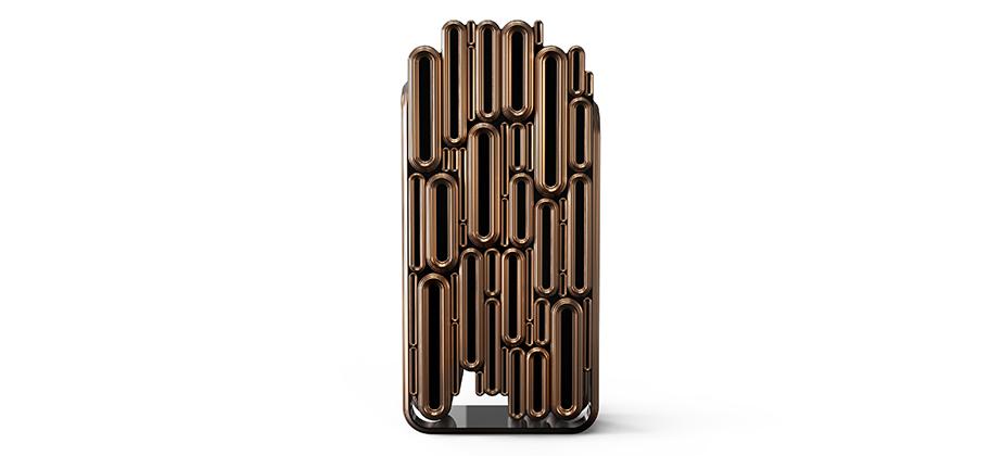 """""""El armário Oblong es una fusión de elementos modernistas y clásicos en una pieza de edición limitada muy esquisita y detallada con alto nivel de diseño.""""  Oblong, un armario de lujo de edición limitada Oblong Moderno armario de lujo"""