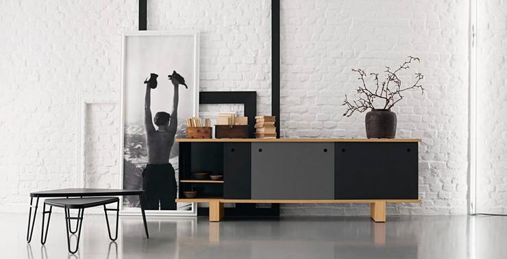 Naharro un showroom de mobiliario dise o moderno en for Mobiliario moderno
