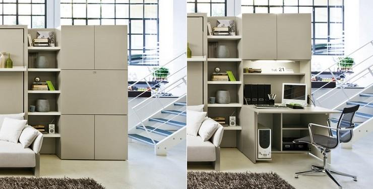 Muebles de dise o que verdaderamente ahorran espacio for Muebles de oficina que es