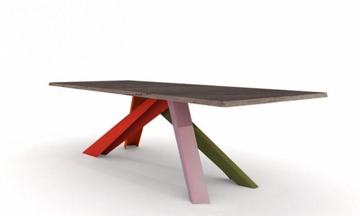 """""""En 2007 se decidió a abrir su propio estudio con el objetivo de continuar su desarrollo profesional en el campo del diseño de productos.""""  Alain Gilles, diseñador industrial con proyectos extensibles the big table por Alain gilles design"""