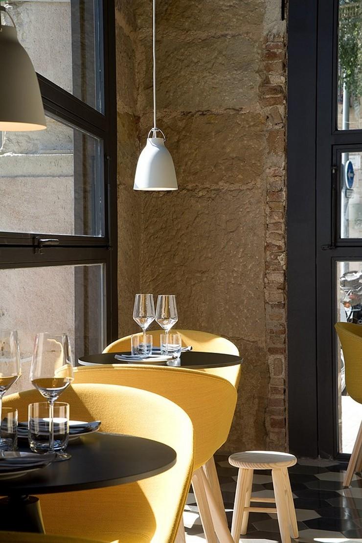 """""""El concepto gastronómico de Saboc """"cocina de temperatura"""", divide su propuesta en cuatro tipos de platos por temperaturas."""" Saboc, cocina minimalista en el barrio del Born restaurante saboc en barcelona 3"""