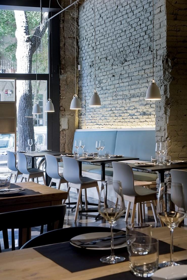 """""""El concepto gastronómico de Saboc """"cocina de temperatura"""", divide su propuesta en cuatro tipos de platos por temperaturas."""" Saboc, cocina minimalista en el barrio del Born restaurante saboc en barcelona 4"""