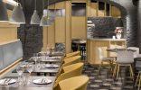 """""""El concepto gastronómico de Saboc """"cocina de temperatura"""", divide su propuesta en cuatro tipos de platos por temperaturas.""""  Los más espectaculares lugares abandonados en España restaurante saboc en barcelona 8 156x100"""