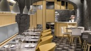 """""""El concepto gastronómico de Saboc """"cocina de temperatura"""", divide su propuesta en cuatro tipos de platos por temperaturas.""""  Saboc, cocina minimalista en el barrio del Born restaurante saboc en barcelona 8 178x100"""