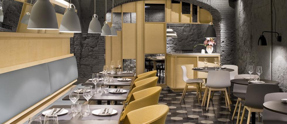 Saboc, cocina minimalista en el barrio del Born