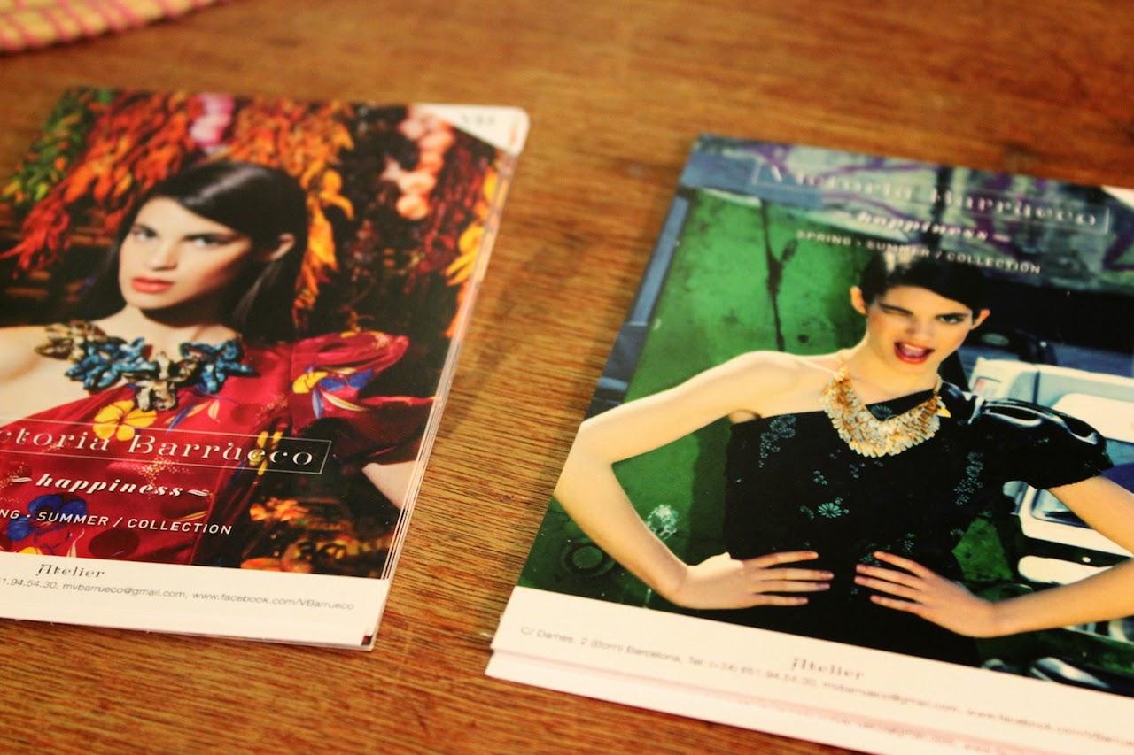 """""""Apuesta por un estilo innovador, donde los colores y los tejidos con texturas tienen protagonismo.""""  Victoria Barrueco, atelier de moda en Barcelona victoria barrueco atelier de moda 1"""