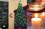 Deco Navidad  Arboles de navidad navidad decorarunacasa luces velas 156x100
