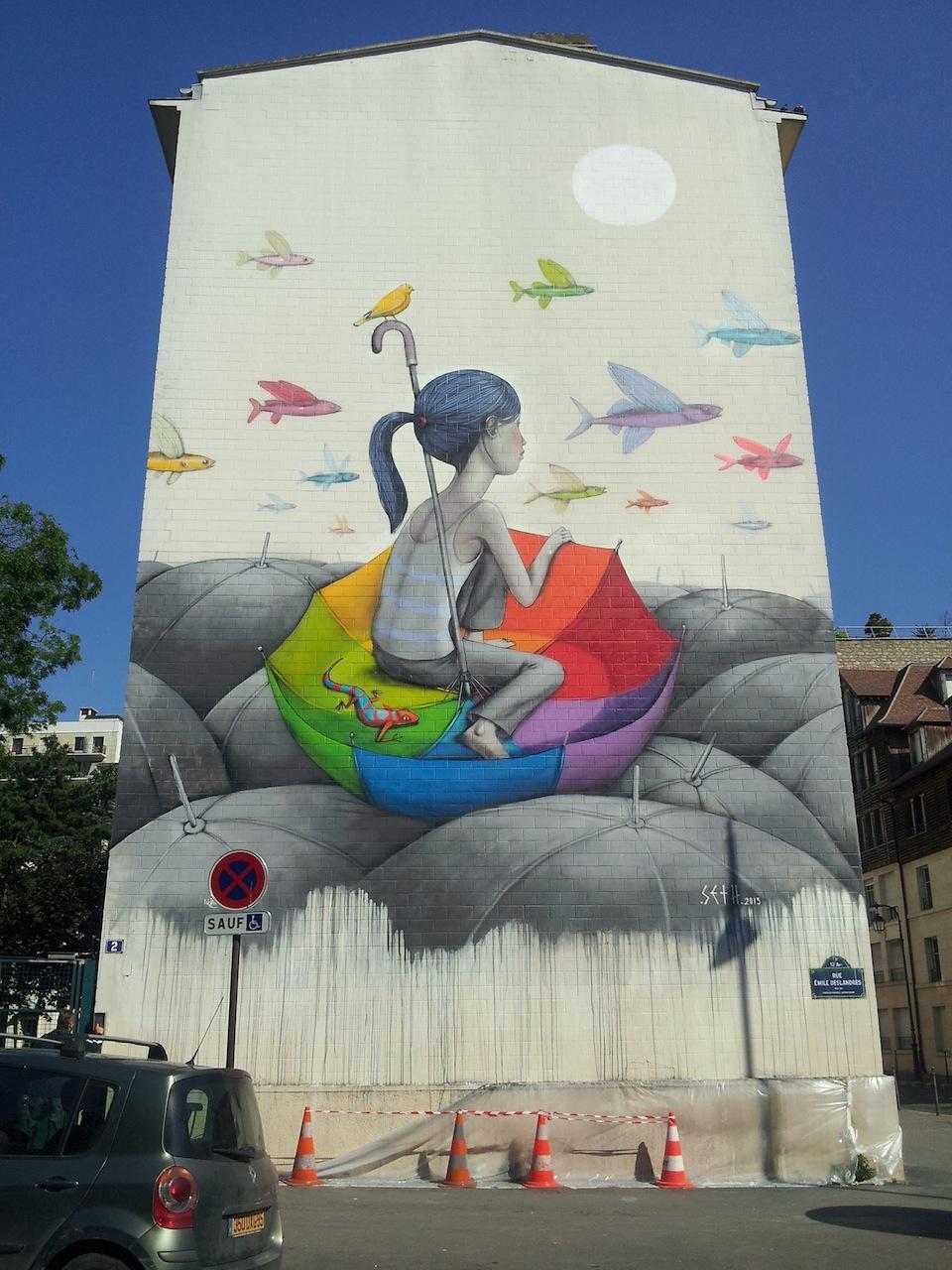 Fantásticas Obras de Arte Urbano Fantásticas Obras de Arte Urbano decorar una casa seth 1