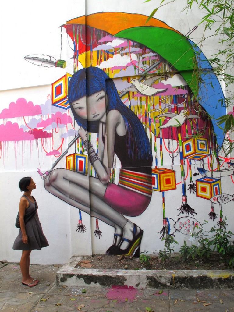 Fantásticas Obras de Arte Urbano Fantásticas Obras de Arte Urbano decorar una casa seth 4
