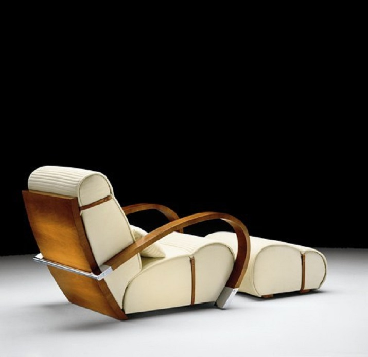 jaime tresserra CONOCE TRESSERRA, EL ESPAÑOL QUE DISEÑÓ LOS MUEBLES DE BRAD PITT Y MARGARET THATCHER Casablanca Armchair with footrest1