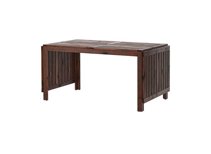 Mesa ÄPPLARÖ | Ikea  5 piezas fundamentales para tu patio o jardín mesaikea2