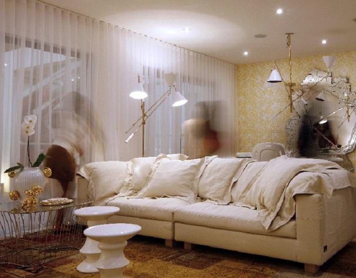 Ideas para tu sal n 50 sof s para te inspirar - Salones clasicos y elegantes ...