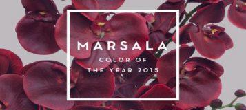 Como decorar con marsala, el color de 2015