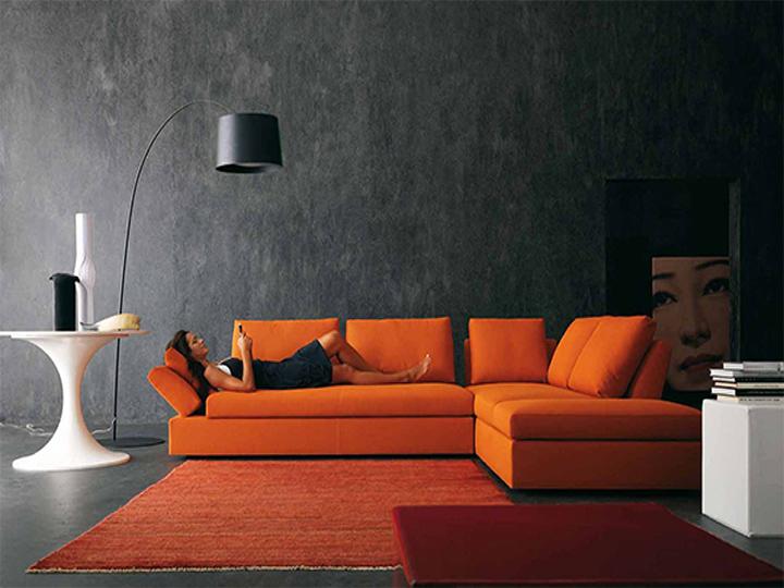 sofás terciopelo  Dale vida a tu juego de sala: coloridos sofás de terciopelo sofas terciopelo 07