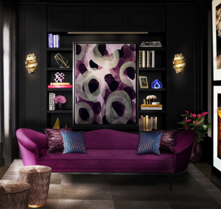 modernizar-sala-sofas-color-2  Cómo modernizar una sala de estar con sofás coloridos modernizar sala sofas color 2