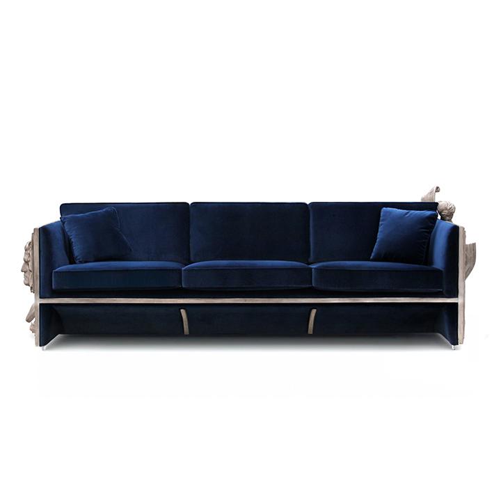 3 sofás tendencias  Los 3 sofás que son tendencia para esta temporada. 3 sofas tendencia versailles 01