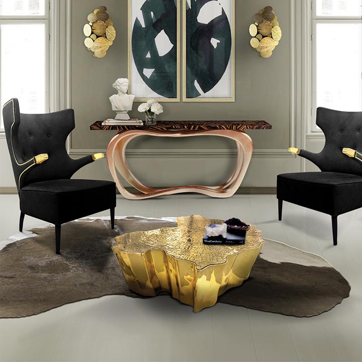 5 de piezas de decoraci n metalizadas que toda sala debe for Decoracion de piezas