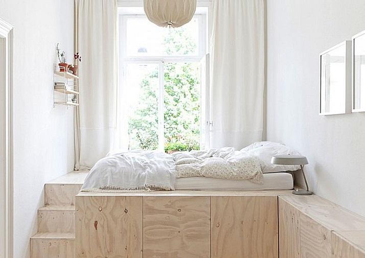 Las mejores ideas de arquitectura para aprovechar el espacio  Las mejores ideas de arquitectura para aprovechar el espacio Weisbaden Plywood Loft Bed Remodelista