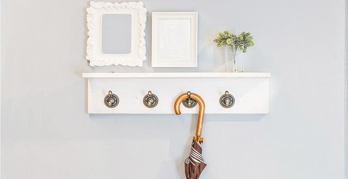 5 Ideas increíbles para crear una entrada atractiva y elegante  5 Ideas increíbles para crear una entrada atractiva y elegante cabideiro de parede