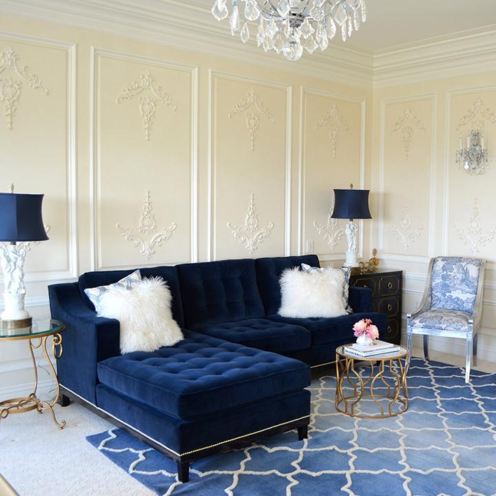 Sala de estar moderna for Sofas de sala modernos