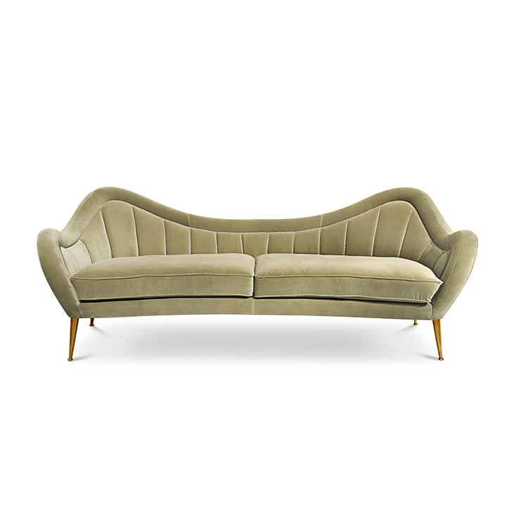 hermes Decorar una casa, ideas para decorar una sala de estar, sala de estar, sofás color velvet, sofás coloridos, sofás cómodos, sofás de cuero, sofás lujosos, sofás modernos TOP 15: Sofás modernos para una sala de estar de lujo. hermes