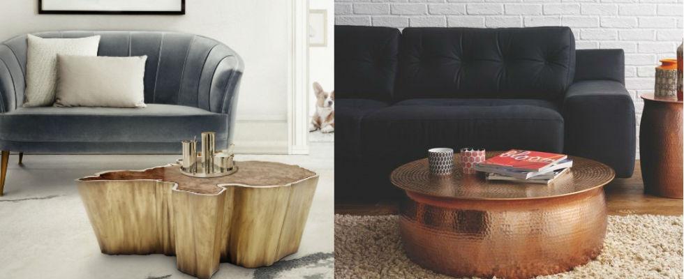 decorar una casa 13 mesas de centro Encantadoras mesas de centro para tu sala de estar decorar una casa 13