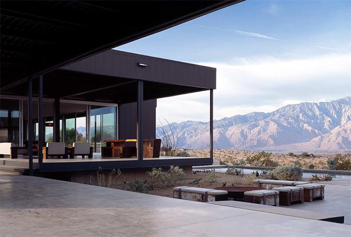 Los mejores proyectos de interiorismo: Desert House Marmol Radziner Los mejores proyectos de Marmol Radziner marmol radnizer 01