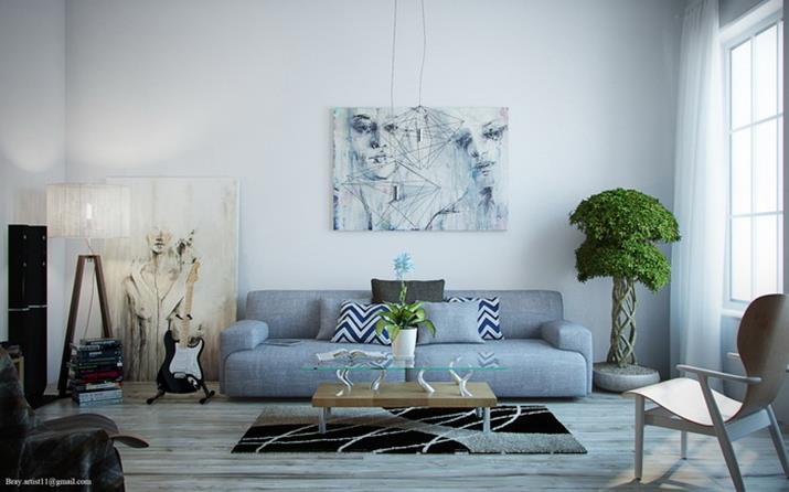 salas de estar decorar una casa (Copy) salas de estar Salas de estar azules para 2016 salas de estar decorar una casa Copy