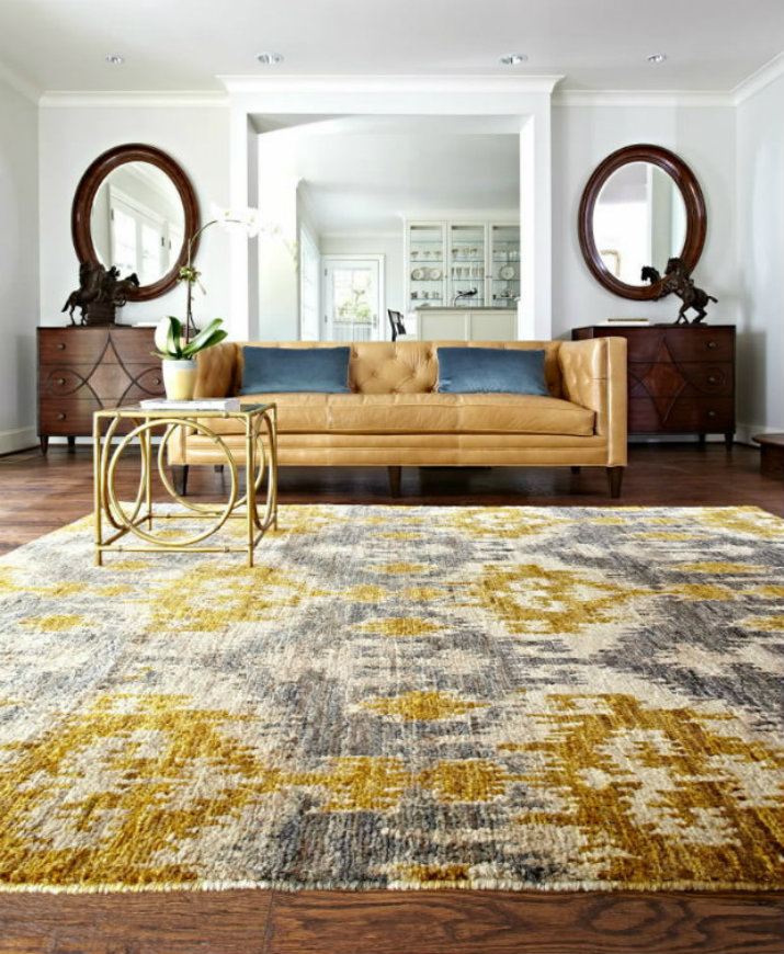 Salón Moderno alfombra Cómo elegir la alfombra perfecta 600011