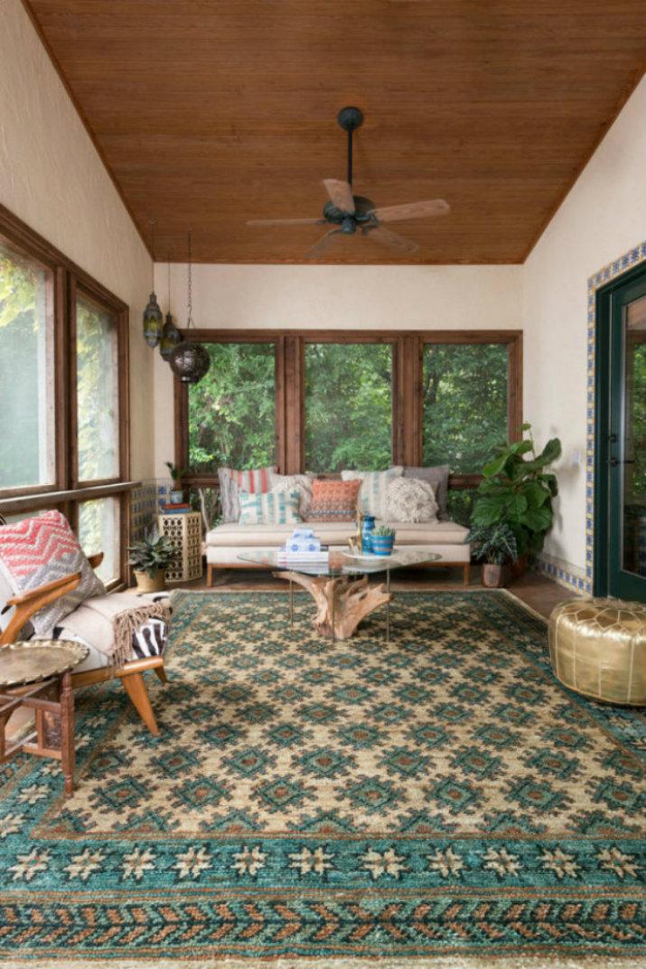 Salón Moderno alfombra Cómo elegir la alfombra perfecta 80002