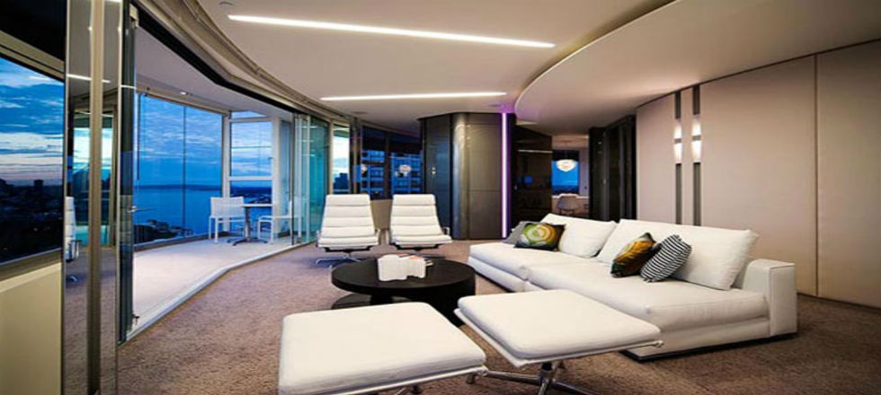 Como tener uma sala de estar moderna decorar una casa for Salas en l modernas