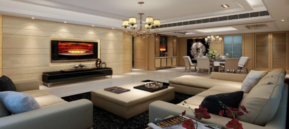 10 ideas de dise o de interiores para tener una sala de for Sala de estar lujosa