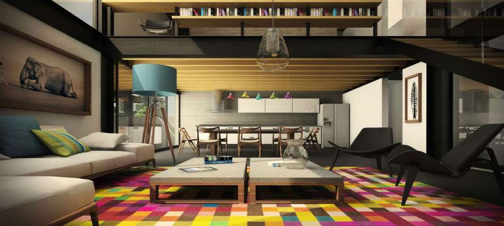Sala de estar moderna 9