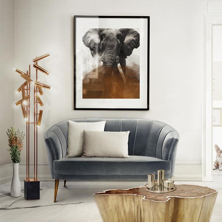 Cómo tener una sala de estar estupenda sala de estar moderna Como tener uma sala de estar moderna? Sequoia Center Table by Brabbu