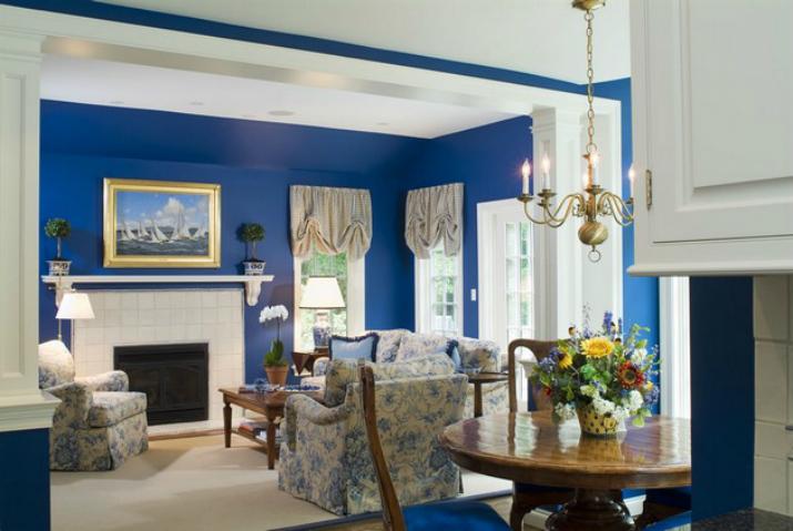 Las mejores decoraciones en azul para tu sala de estar   Las mejores decoraciones en azul para tu sala de estar 10001