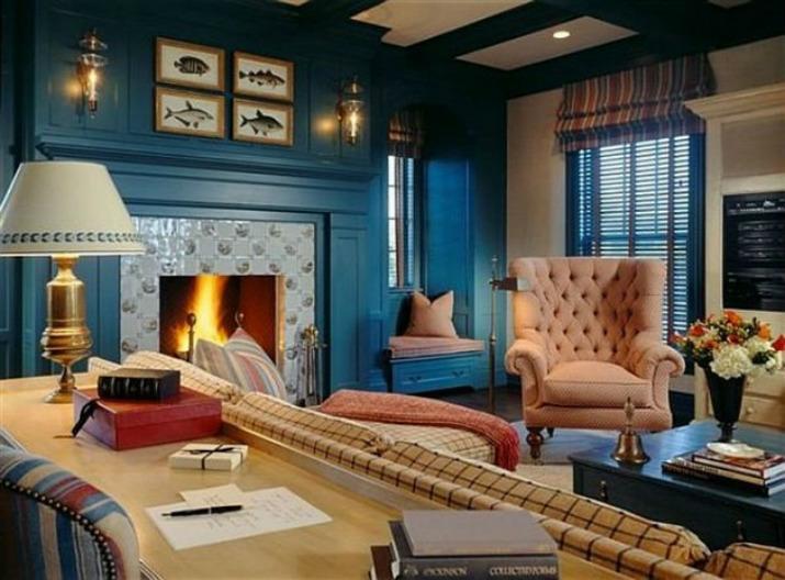 Las mejores decoraciones en azul para tu sala de estar   Las mejores decoraciones en azul para tu sala de estar 20001