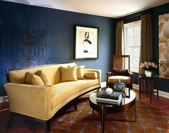 Las mejores decoraciones en azul para tu sala de estar   Las mejores decoraciones en azul para tu sala de estar 40001