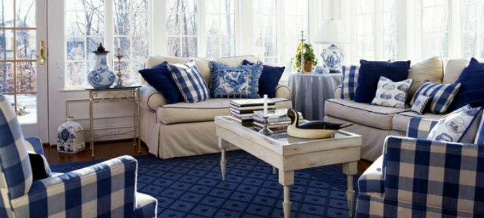 Las mejores decoraciones en azul para tu sala de estar 7150000