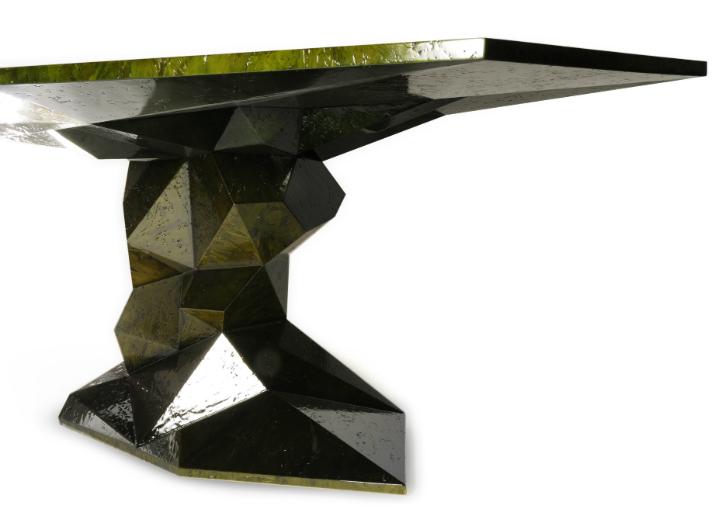 El estilo zen de la mesa de comedor Bonsai - 1 mesa de comedor El estilo zen de la mesa de comedor Bonsai El estilo zen de la mesa de comedor Bonsai 1