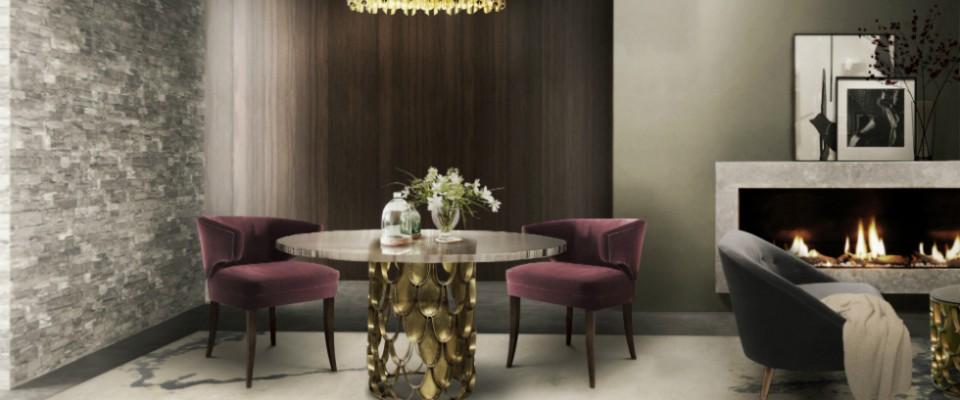 Mesas de comedor modernas para inspirarte
