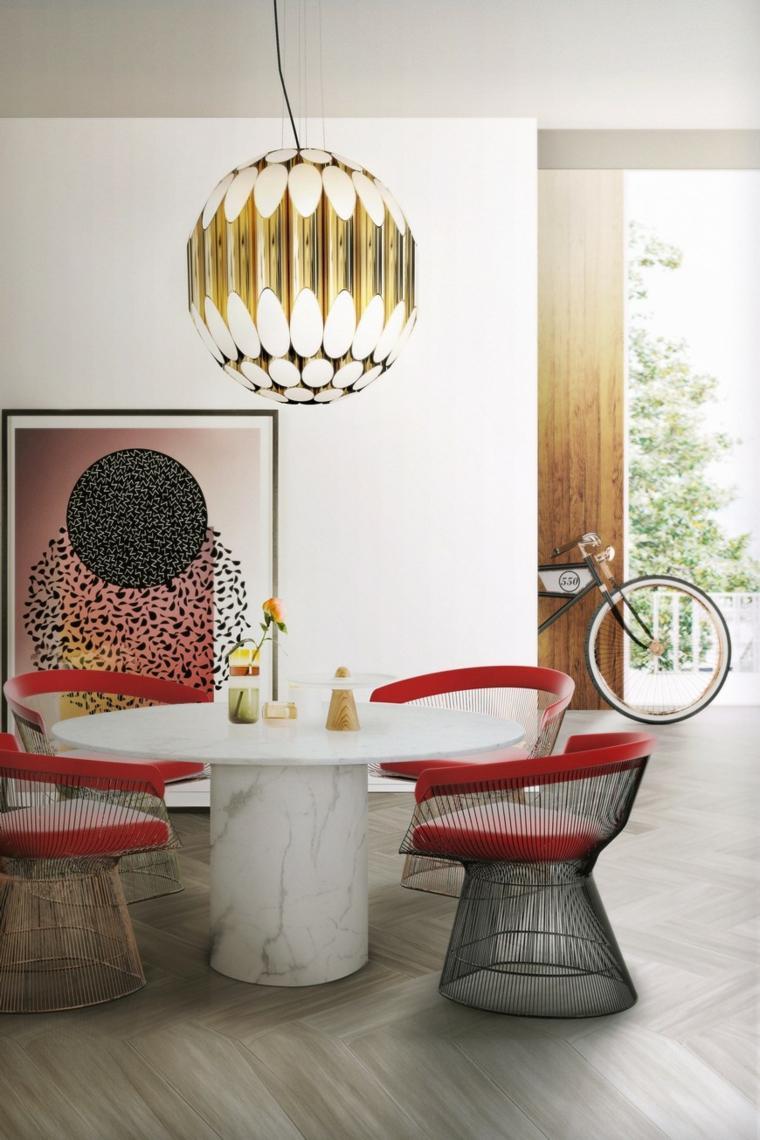 Comedor moderno sala de comedor 5 ideas fabulosas para embellecer tu sala de comedor este verano Comedor moderno