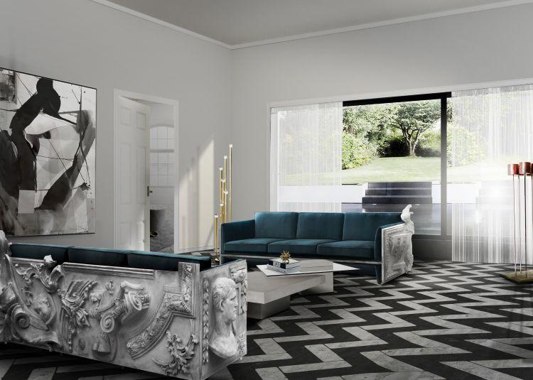 top 10 sofas  Top 10 sofás para la sala de estar para el otoño-invierno 2016/2017 versailles blue