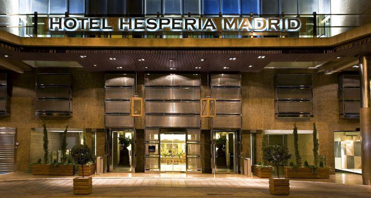 Pascua Ortega  Hesperia Madrid Un Mundo de Lujo y Glamour de Pascua Ortega MADHM Exterior Overview