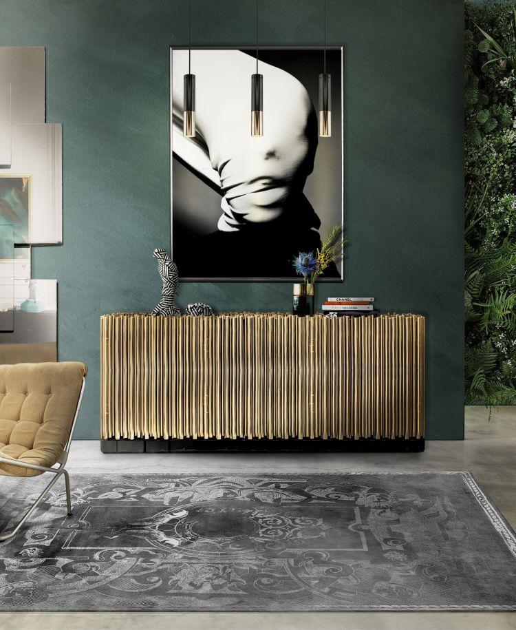 decorar la casa  Top 5 Aparadores Lujosos y hermosos para decorar la casa SYMPHONY Sideboard Boca do Lobo 101981 rel2b6c8fdd