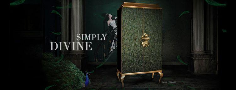 armarios lujosos  Armarios Lujosos para decorar el dormitorio principal divine armoire