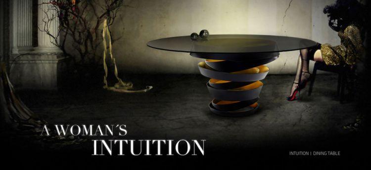 Maison et Object 2017  La Nueva Colección de KOKET Que se Presentará en la Maison et Object 2017 intuition dining table