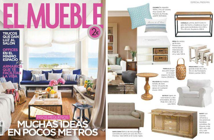 Top revistas de decoraci n e interiorismo del a o 2016 for Muebleria el mueble